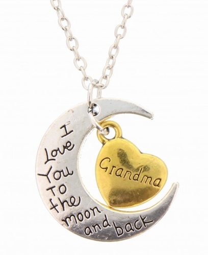 Grandma I love you to the moon and back