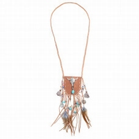 Ketting Pouch Feather