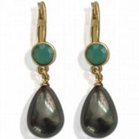 Earrings Pearl Drop