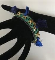 Armband groen/blauw