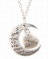 Grandpa love you to the moon and back