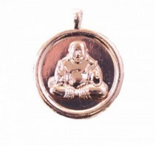 Boeddha hanger rose gold 4cm